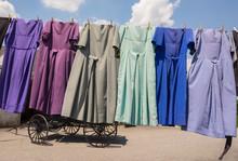 Traditional Amish Dresses Hang...