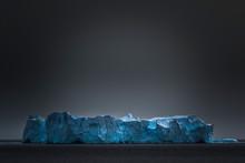Iceberg Under Gray Sky, Gerlache Strait, Antarctica