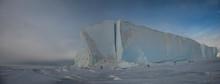 An Iceberg Frozen Into The Sea...