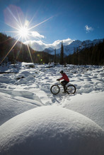 Fat Biking At Mistaya Canyon, ...
