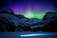 Aurora Borealis Over Lake O'Ha...
