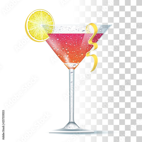 Photographie Cosmopolitan Or Cosmo Cocktail