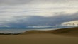 Movement of the clouds over the salted lake Durgun Nuur Mongolia. Full HD