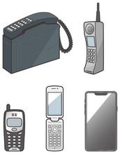 いろいろな携帯電話