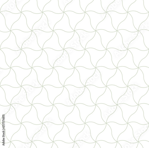 Photo  Vector seamless pattern, geometric ornament for textile print