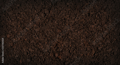 Soil texture background Fotobehang