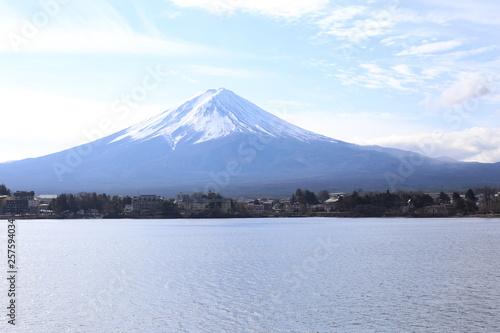 Photo sur Toile Bleu clair Japon décembre 2018