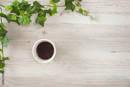 Poster Salle de cafe Coffee on the table. テーブルの上のコーヒー