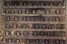 Religious Ceiling Paintings In Debre Birhan Selassie Church