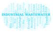 Industrial Wastewater word cloud.