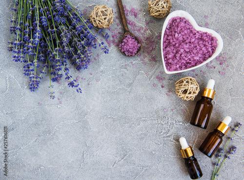 Photo  Lavender spa set