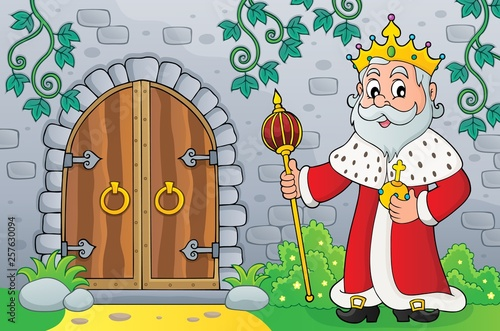 King by old door topic image 1