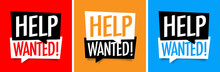 Help Wanted !