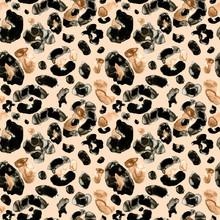 Trendy Animal Leopard Or Cheet...