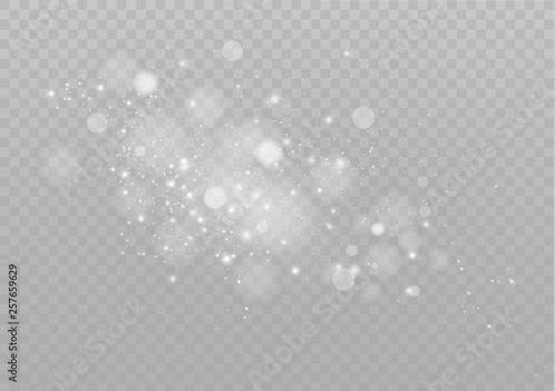 Fotografia  Sparkling magical dust