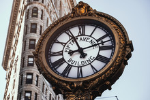 Fifth Avenue Building Clock In...