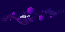 Vector Abstract Background Wit...