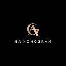 GA Monogram Logo