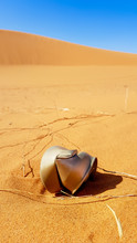 Litter In The Desert, Rusty Ca...