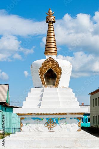 Fotografia  Buddhist pagoda, Ivolginsky datsan