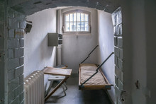 Ancient Prison Cells In An Old...