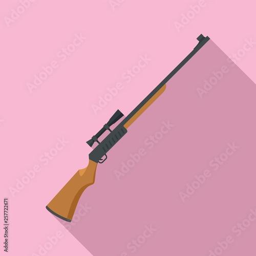 Obraz na plátně Hunter rifle icon