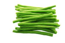 Green Kenyan Bean Isolated On ...