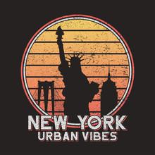 New York Slogan Typography For...