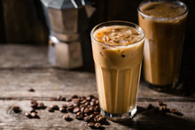 Cold Coffee With Ice And Cream