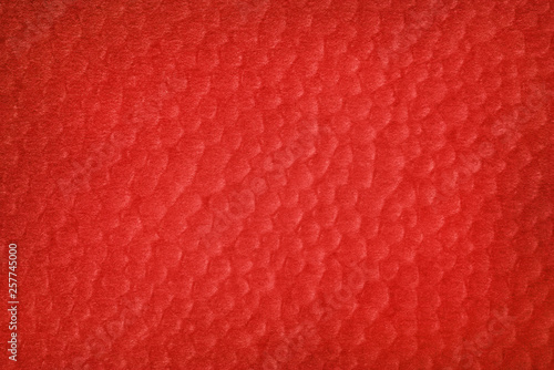 obraz PCV Abstract textured red background with bubbles