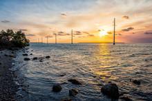 Sunset In Islamorada, Florida ...