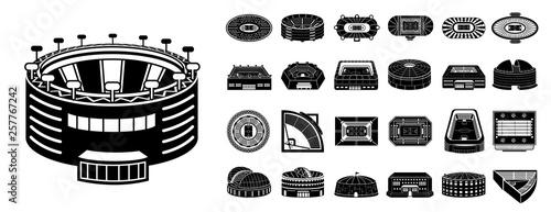 Photo Arena icons set