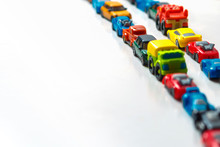 Plastic Multi-colored Toy Cars...