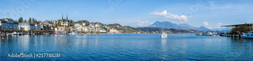 Fotografia Panoramic view of city center of Lucerne in daylight ,Switzerland