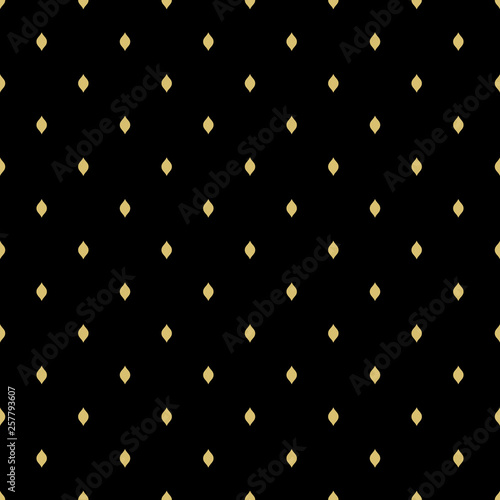 Keuken foto achterwand Leder Seamless geometric pattern. Modern ornament with golden stars. Geometric abstract pattern