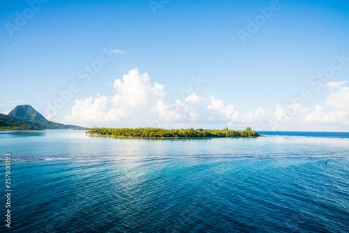 Obraz na plátně Huahine, Tahiti (French Polynesia)