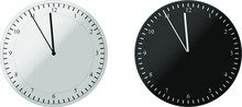 Clock Icon With With EPS 10 De...