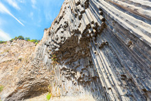 Symphony Of The Stones Near Garni , Armenia