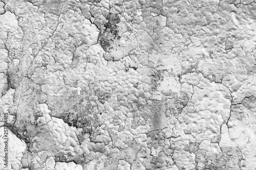 Foto auf AluDibond Alte schmutzig texturierte wand Texture of peeling paint.