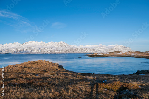 Printed kitchen splashbacks Canary Islands Iceland small Town Bay scenery