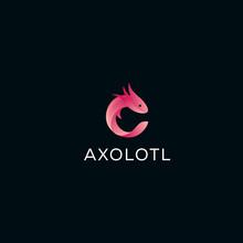 Axolotl Logo Design