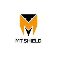 MT Shield Logo Vector