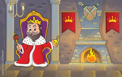 King on throne theme image 2