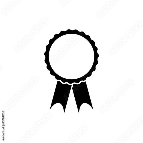 Photo Winning award, prize, medal or badge flat icon