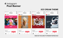 Ice Cream Instagram Post
