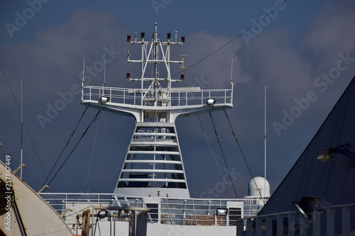 Valokuva  Albero maestro di una nave da crociera