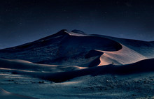 Desert Of Namib At Night With ...