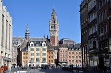 Magnificent Belfry In Lille Ci...