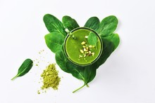 Super Green Spinach Smoothie W...