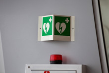 Defibrillator Attached To The ...